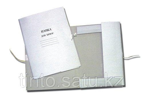 Архивная папка с завязками