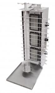 Шаурма-шашлычница газовая Ф3ШМГ/ 11203 (ручная) (Шаверма) (515х800х1170мм, 11 кВт)