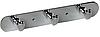Планка Fixsen FX-1413 на 3 крючка