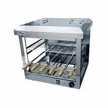 Шашлычница электрическая Ф1ШстЭ/ 21303 (на 6 шампуров, стеклянная) (550х555х520мм, 3,5 кВт, 220В)