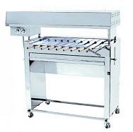 Шашлычница электрическая Ф3ШЭ/ 21301 (на 10 шамп.) (760х580х900-1050мм, 7,5 кВт, 380В)