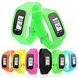 Шагомер-браслет - Часы, шаги, дистанция, расход калорий, фото 2