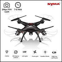 Квадрокоптер SYMA X5SW с транслирующей камерой HD FPV (белый,черный)
