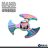 Спиннер, Rainbow Box EDC Alloy Tri-Spinner