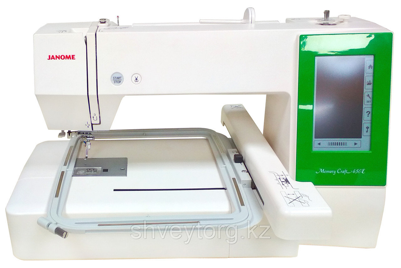 Вышивальная машина Janome Memory Craft  -450E