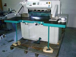 Бумагороезальная машина PERFECTA 76 SP 1995 год большие столы