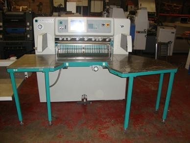Бумагороезальная машина PERFECTA 92 TVC 2005 год+Джогер+лифт+разгрузчик