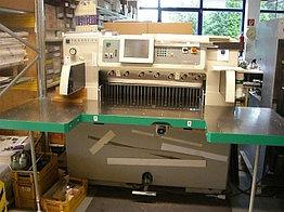 Бумагороезальная машина PERFECTA 92 TVC 2004 год большие столы