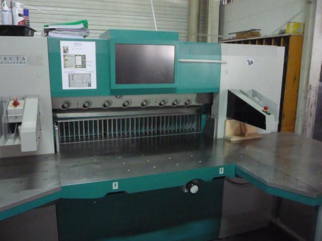 Бумагороезальная машина PERFECTA 115 TV 2008 год+Джогер+лифт+разгрузчик