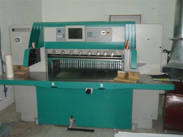 Бумагороезальная машина PERFECTA 115 TV 2005 год