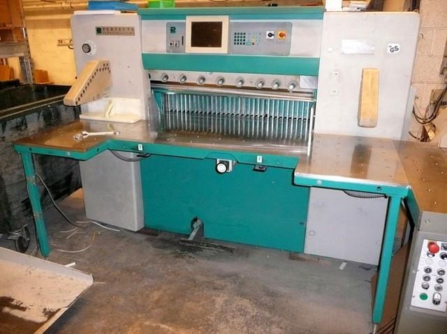 Бумагороезальная машина PERFECTA 115 TVC 2002 год+Лифт