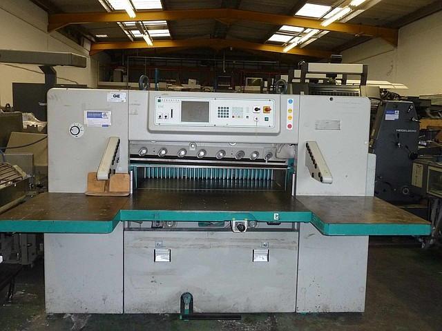Бумагороезальная машина PERFECTA 115 TVC 1997 год+Большие столы
