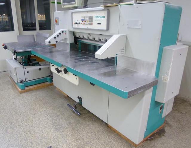 Бумагороезальная машина PERFECTA 115 TVC-2 1993год+Джоггер
