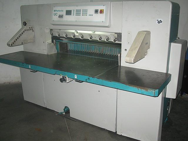 Бумагорезальная машина PERFECTA 115 UC, год выпуска-1996