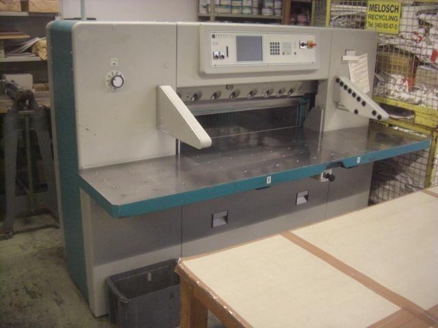 Бумагороезальная машина PERFECTA 115 TVC 1994 год