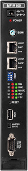 Процессор MFIM100 IP АТС LIK100 ― вид спереди