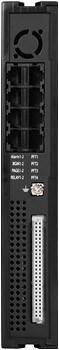 Процессор MFIM100 IP АТС LIK100 ― вид сзади