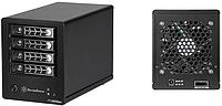 SilverStone представила два новых корпуса для дисковых полок
