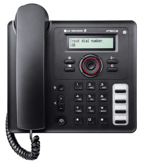 IP телефон LIP-8002 к IP АТС