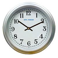 НИИЧаспром Офисные часы ВЧС-04 (ВЧ 03/04) диаметр –  405 мм пластик ,силикатное стекло