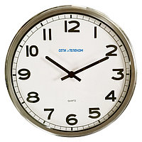 НИИЧаспром Офисные часы ВЧС-03 (ВЧ 03/03) диаметр 270мм (пластиковый корпус)