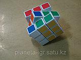 Кубик 3х3 полускоростной черный Шенгшоу, фото 2