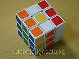 Кубик 3х3 полускоростной черный Шенгшоу, фото 3