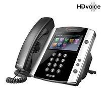 SIP телефон Polycom VVX 600 (2200-44600-114), фото 1