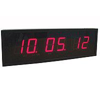 Хронотрон Цифровые часы с высотой знака 240 мм Помещение + улица, фото 1