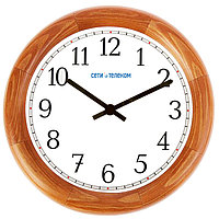 НИИЧаспром Офисные деревянные часы ВЧС-Д диаметр – 350-400 мм