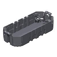 OBO Bettermann Монтажная коробка GB2 для установки в лючок для 3xModul45 (полиамид,черный), фото 1
