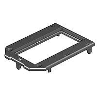 OBO Bettermann Рамка для электроустановочных изделий Modul45 147x76 мм (полиамид,черный), фото 1