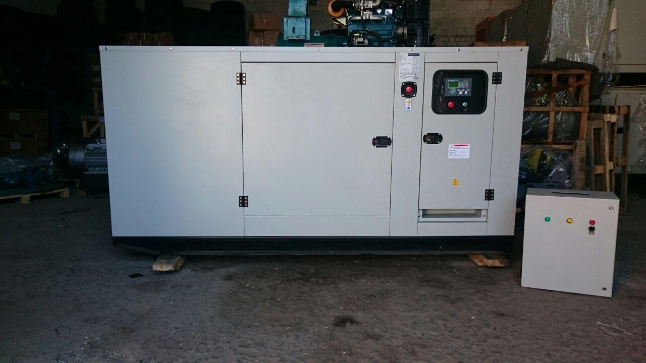 Генератор дизельный 30 кВт в защитном кожухе