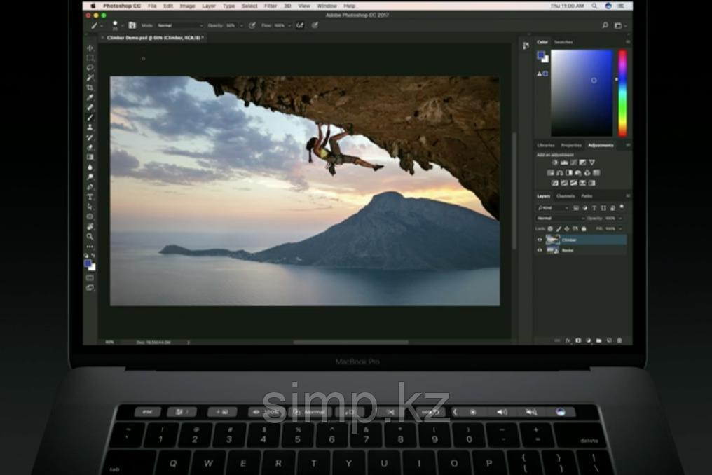 Установить photosop на macbook