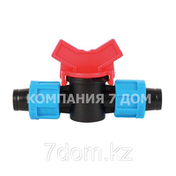 Соединительный кран-ремонтник для капельной ленты