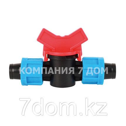Соединительный кран-ремонтник для капельной ленты, фото 2