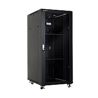 Серверный шкаф Linkbasic 32U, 600*800*1600 Напольный, передняя дверь стеклянная, 2 полки