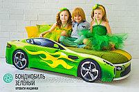 Кровать-машина БОНДМОБИЛЬ, фото 6