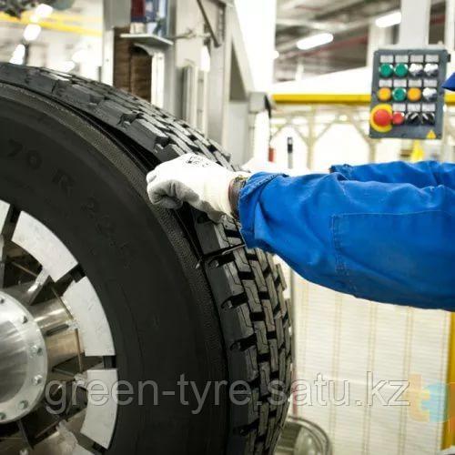 Восстановление грузовых шин на ведущую ось