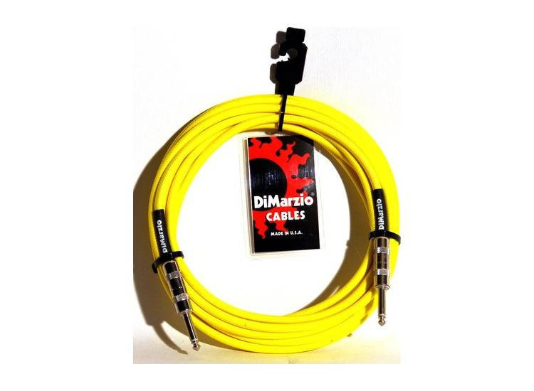 DIMARZIO INSTRUMENT CABLE 18` NEON YELLOW EP1718SSY