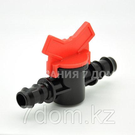 Соединительный кран-ремонтник для капельной трубки, фото 2