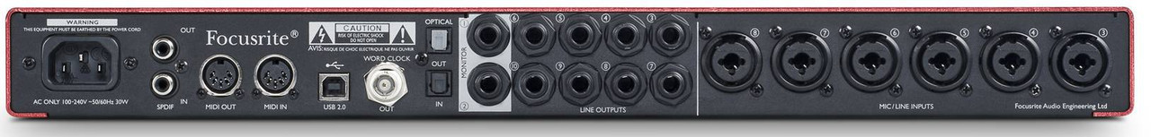 FOCUSRITE Scarlett 18i20 USB