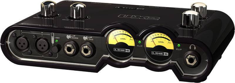 LINE 6 TONEPORT UX2 Mk2 AUDIO USB INTERFACE