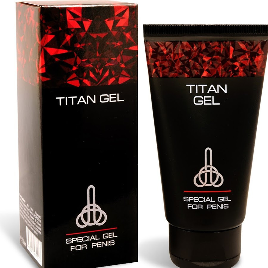 Titan Gel (Титан Гель) - крем для мужчин