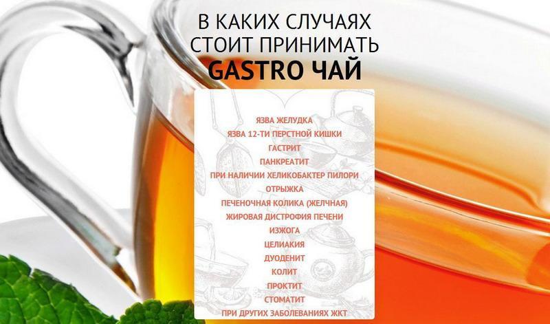 GASTRO (гасторо) – желудочный чай