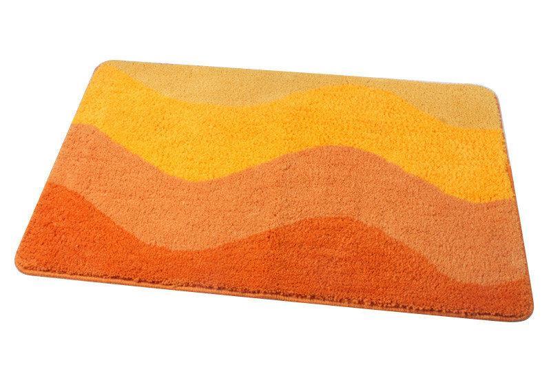 Коврик Fixsen МА2751G для ванной 1-ый 50х70см Оранжевый