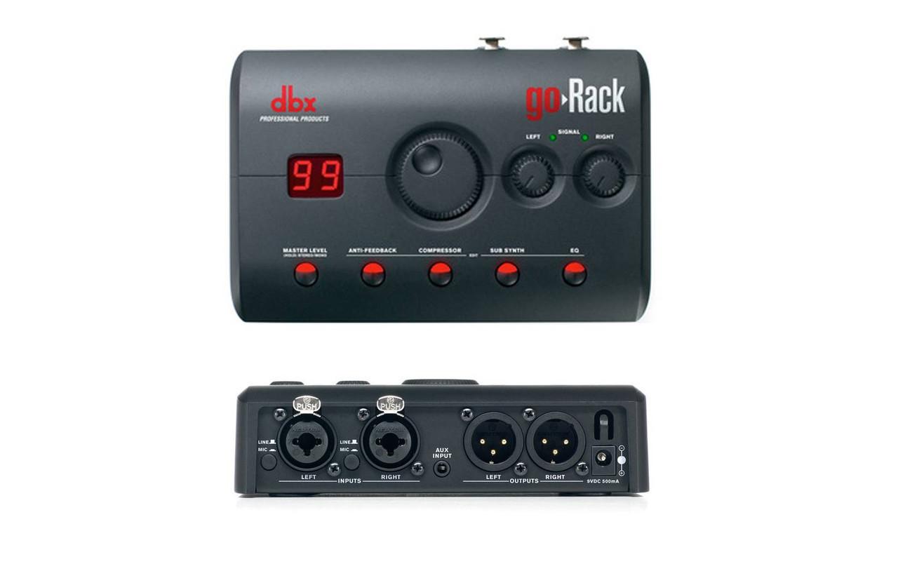 DBX DriveRack goRack