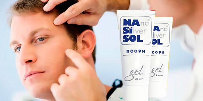 Nano Silver Sol Псори - мазь от псориаза