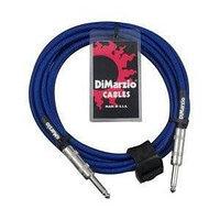 DIMARZIO INSTRUMENT CABLE 18` ELECTRIC BLUE EP1718SSEB