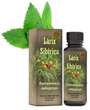 Larix Sibirica (Ларикс Сибирика) - от стресса